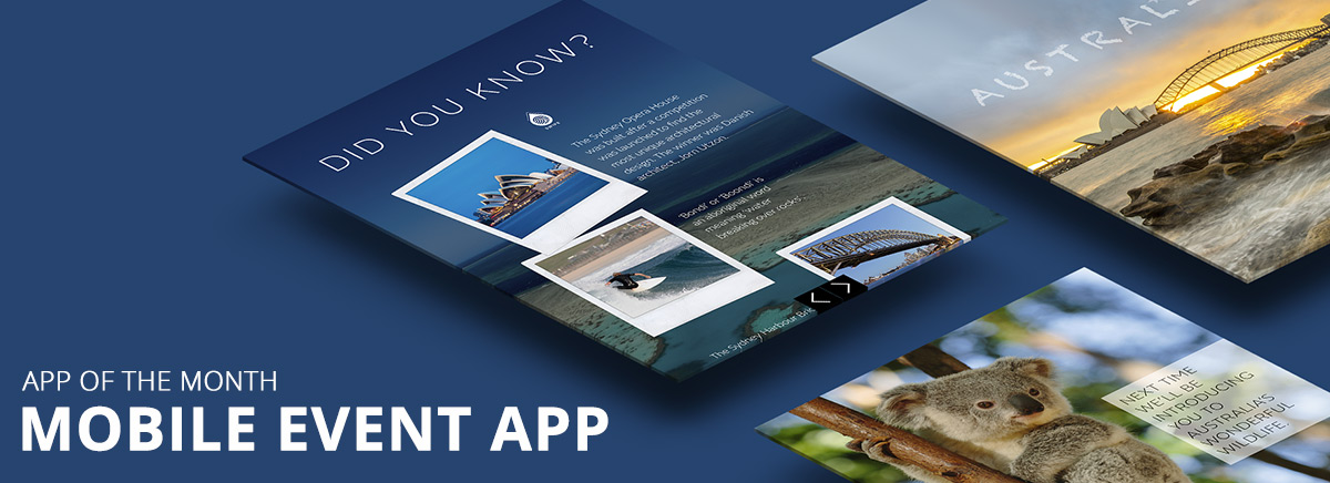 Why is a mobile event app a must have? - App of the month