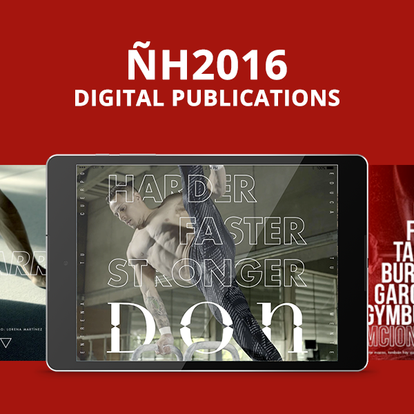 Revista Don : awarded Gold for Best Magazine for Apps / Tablets