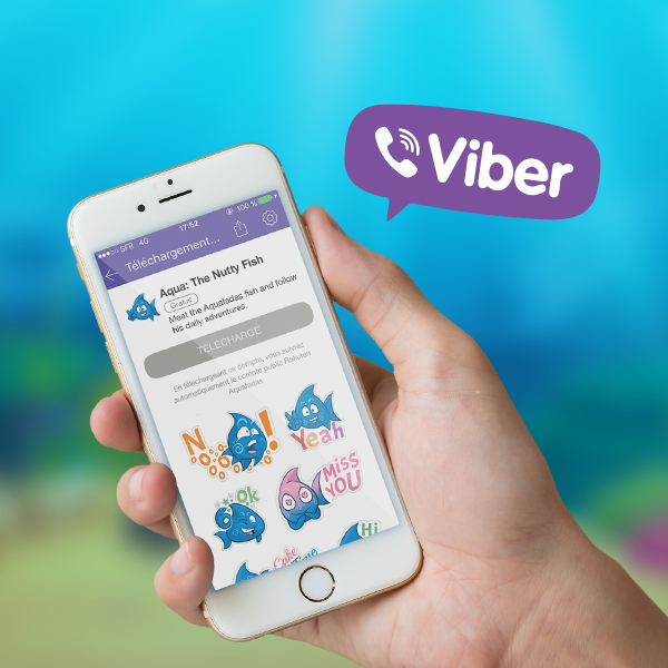 Discover our new Viber stickers!