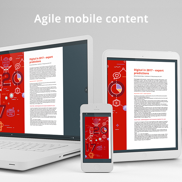 Agile mobile content – how to take control of in-house app costs