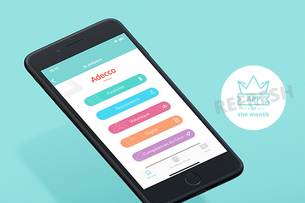 How the Adecco Group keeps on investing and optimising their own sales enablement app  – App of the month