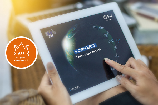 Learning about Europe's eyes on Earth via a Touchbook – App of the month